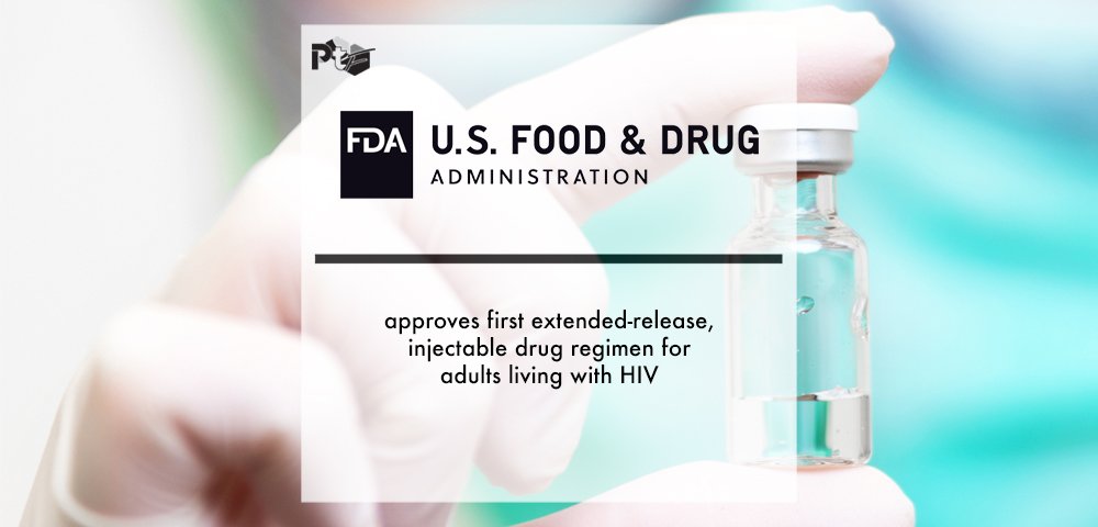 FDA approves first extended-release, injectable drug regimen for adults living with HIV | Pharmtech Focus