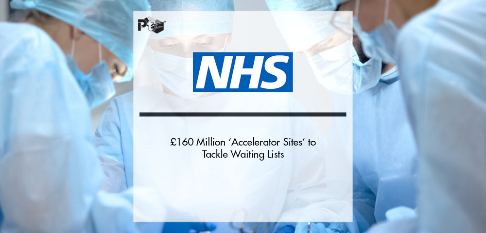 NHS's £160 Million 'Accelerator Sites' to Tackle Waiting Lists | Pharmtech Focus
