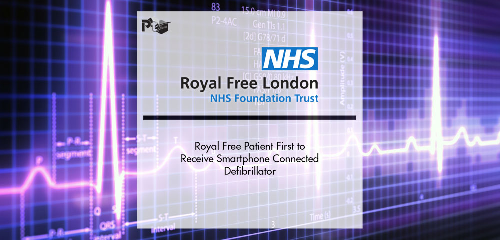 Royal Free Patient First to Receive Smartphone Connected Defibrillator | Pharmtech Focus