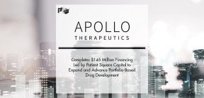 Apollo Therapeutics Completes $145 Million Financing Led by Patient Square Capital to Expand and Advance Portfolio-Based Drug Development   Pharmtech Focus