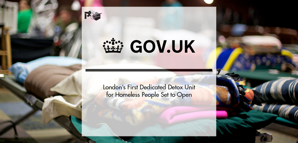 London's First Dedicated Detox Unit for Homeless People Set to Open | Pharmtech Focus