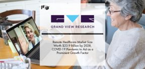 Remote Healthcare Market Size Worth $23.9 Billion by 2028, COVID-19 Pandemic to Act as a Prominent Growth Factor | Pharmtech Focus