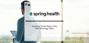 Spring Health Announces Harshit Shah as New Chief Technology Officer   Pharmtech Focus