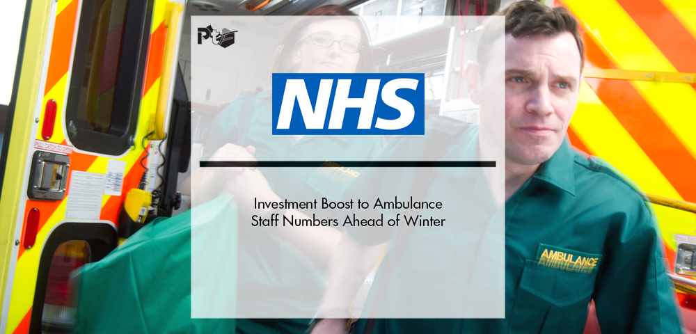 NHS Investment Boost to Ambulance Staff Numbers Ahead of Winter | Pharmtech Focus