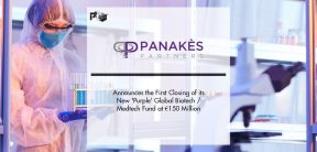 Panakès Partners Announces the First Closing of its New 'Purple' Global Biotech/Medtech Fund at €150 Million ($180 Million)   Pharmtech Focus