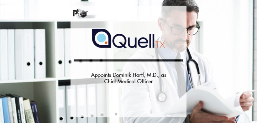 Quell Therapeutics Appoints Dominik Hartl, M.D., as Chief Medical Officer | Pharmtech Focus