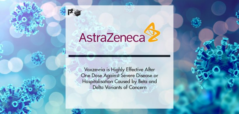 Vaxzevria is Highly Effective After One Dose Against Severe Disease or Hospitalisation Caused by Beta and Delta Variants of Concern   Pharmtech Focus