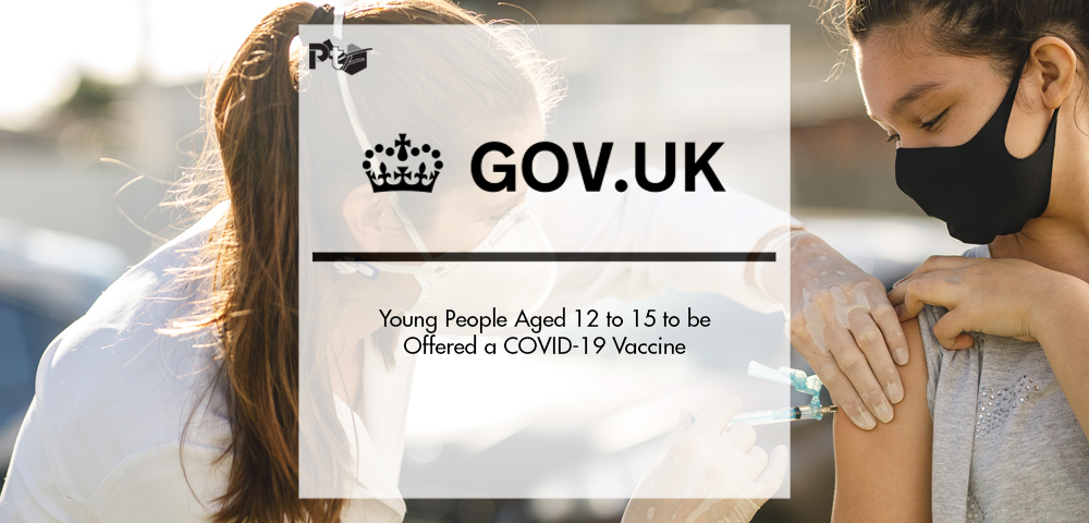 Young People Aged 12 to 15 to be Offered a COVID-19 Vaccine | Pharmtech Focus