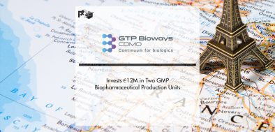 GTP Bioways Invests €12M in Two GMP Biopharmaceutical Production Units | Pharmtech Focus